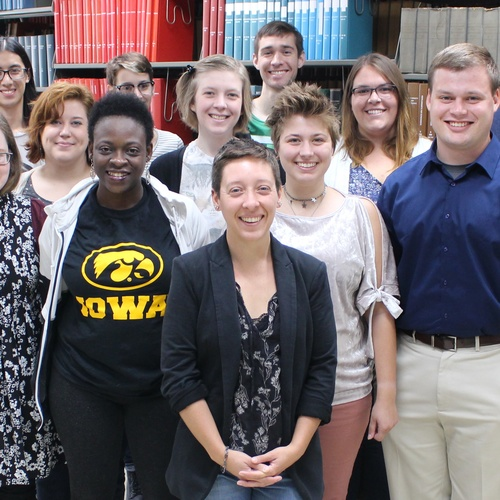 Students in the library sciences and information systems program at The University of Iowa