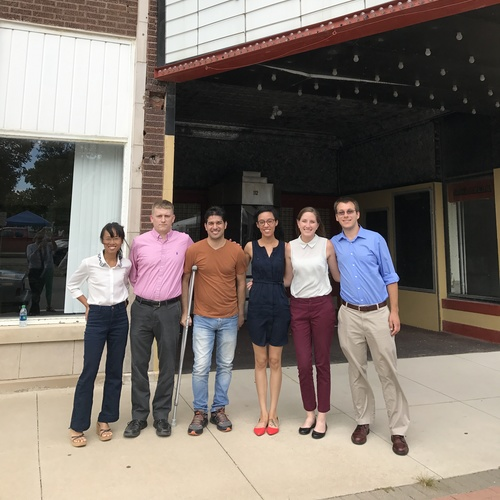Cedar County Comprehensive Plan team meets in Tipton, Iowa
