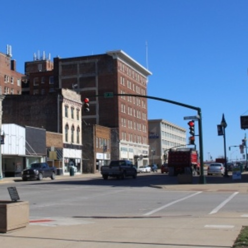 Keokuk Downtown Streetscape
