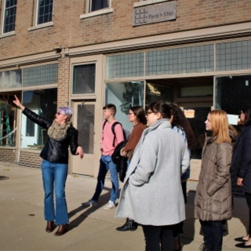 Rhetoric students visit Keokuk