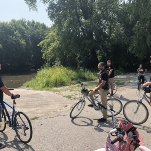 Webster City bike tour