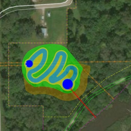 Webster City wetlands design