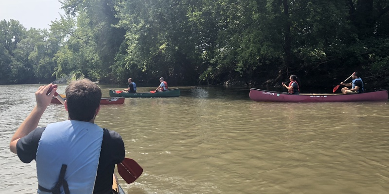 Boone River Canoeing